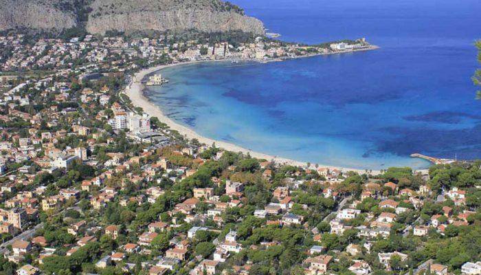 Sicily - Mondello beach-2