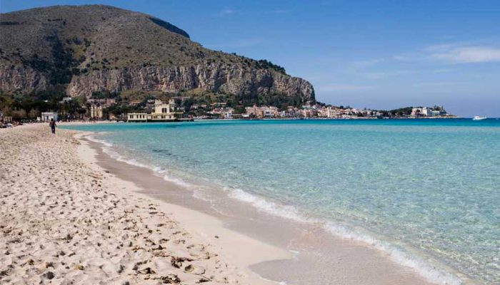 Sicily - Mondello beach-6