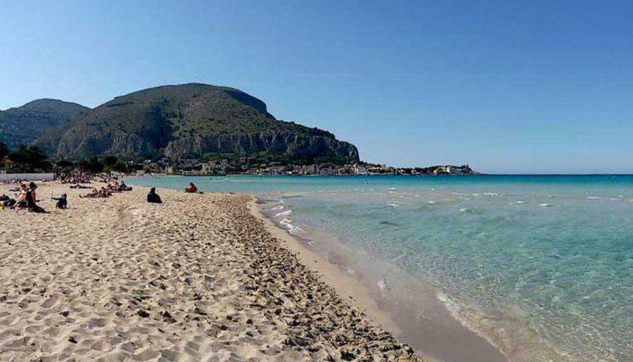 Sicily - Mondello beach-5