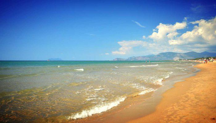 Roman coast Sperlonga beach-2